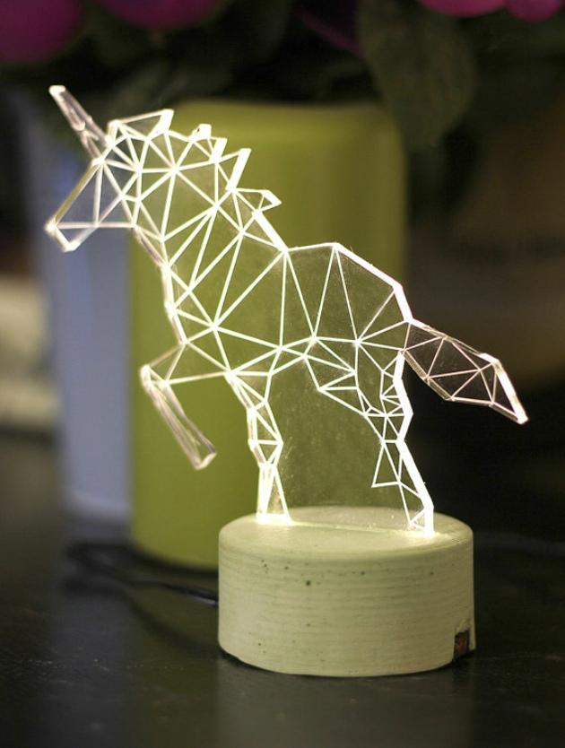 新闻中心--几何图形拼出的手工动物灯设计